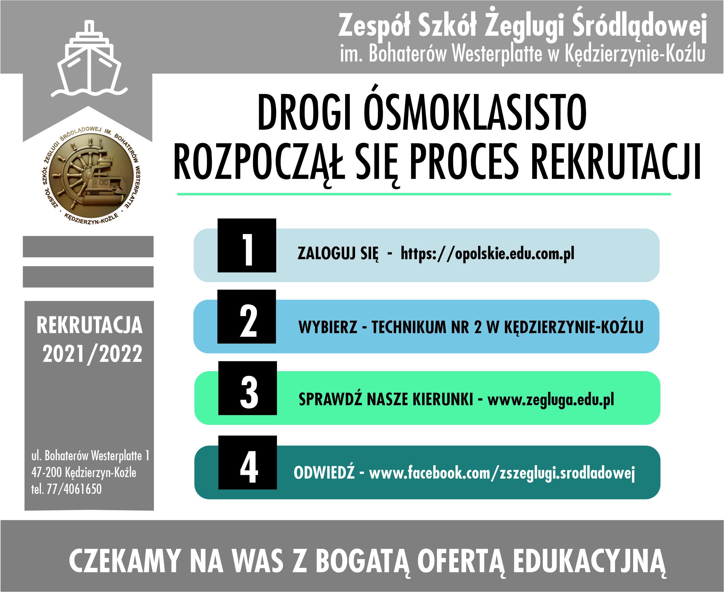 RUSZA REKRUTACJA 2021/2022